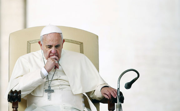 Ferenc pápa 20141112