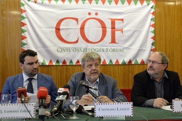 CÖF: Álcivil szervezetek támadják a szuverenista kormányokat
