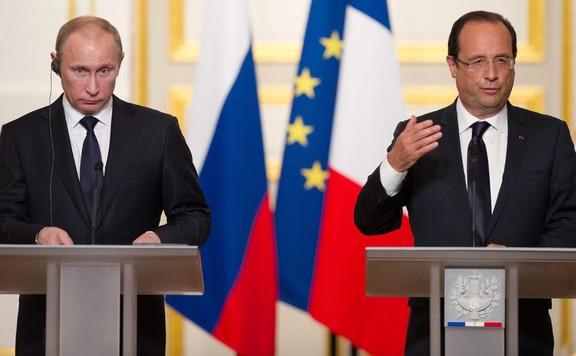 Putyin és Hollande 576
