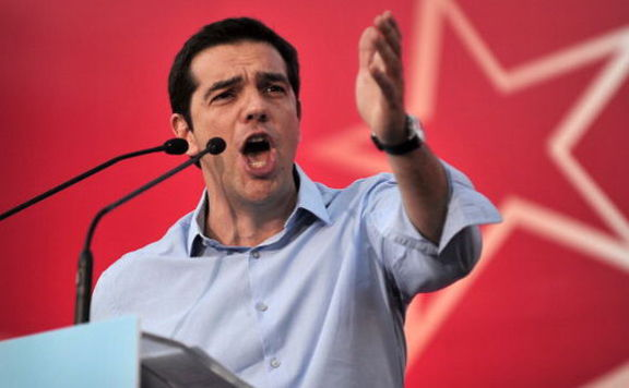 Sziriza görög baloldali párt 576 Alexis Tsipras