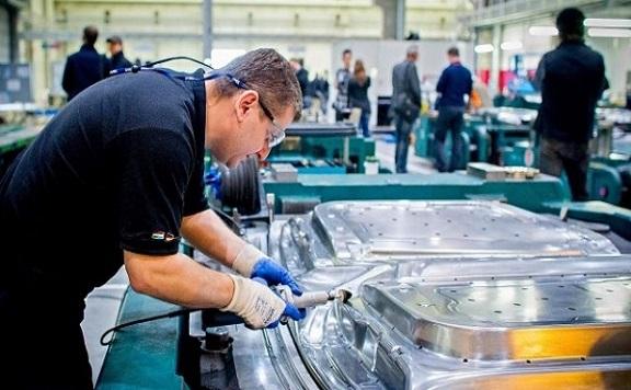 Jelentősen nőtt az ipari termelés