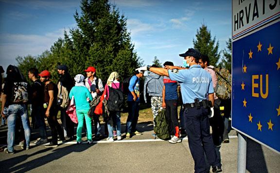"""""""Horvátországon keresztül juthat a legtöbb migráns Nyugat-Európába"""""""