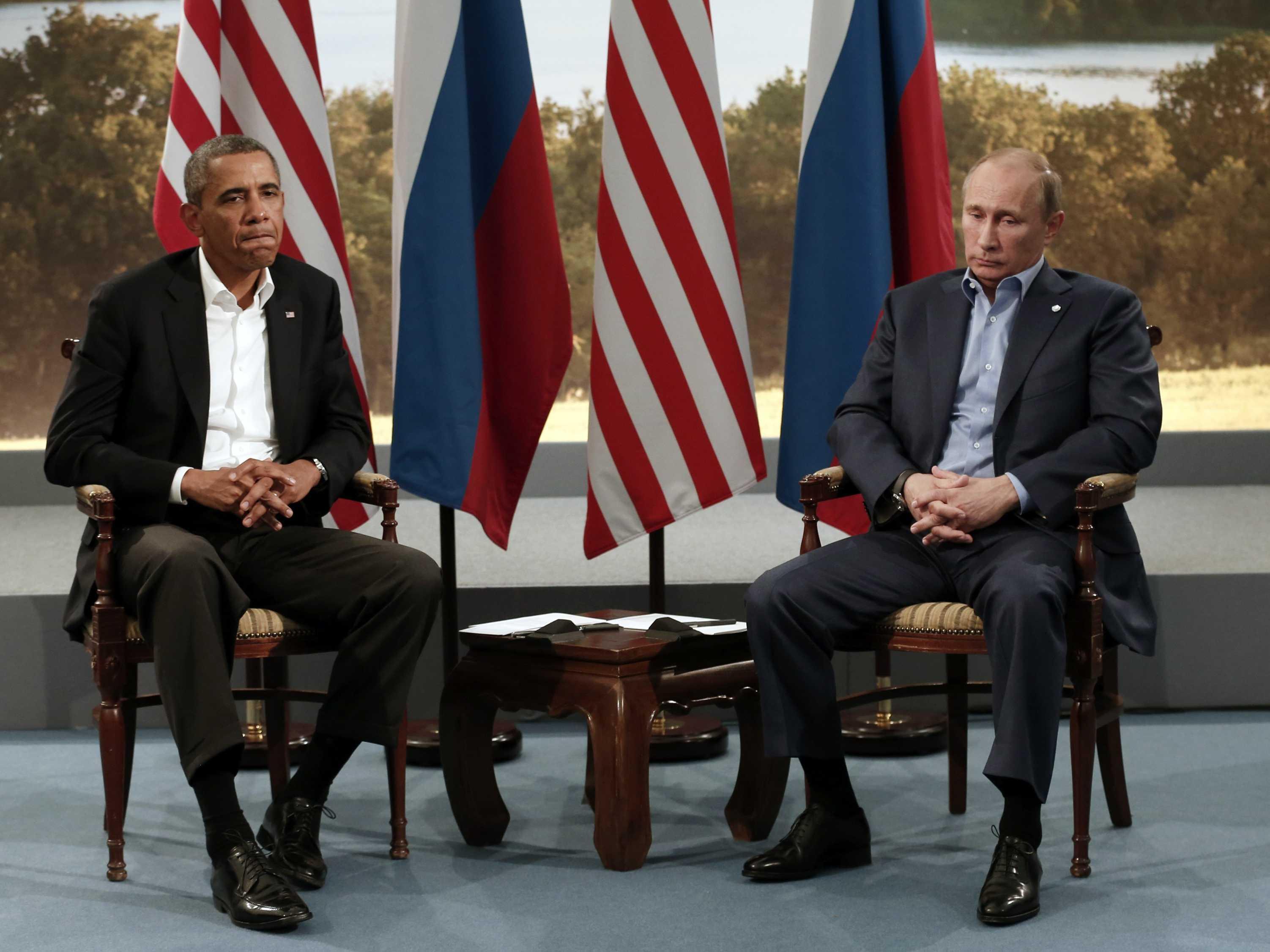 Putyin Obama