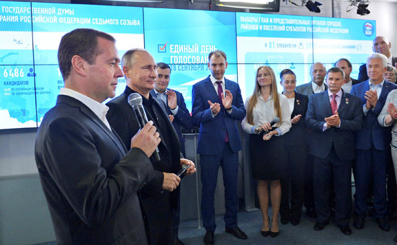 Medvegyev Putyin 20160920