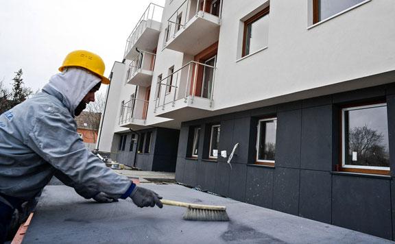 Februárban rekordot döntött az építőipari növekedés