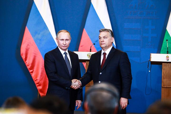 Budapestre látogat szerdán Vlagyimir Putyin