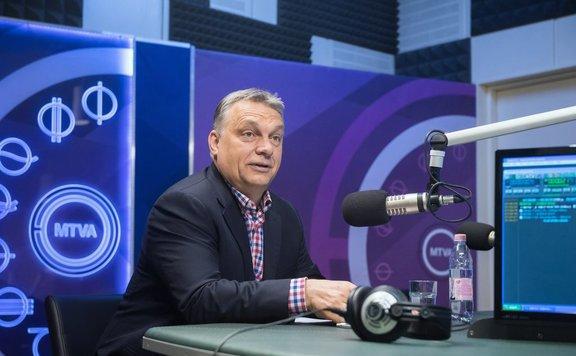 Orbán: A bevándorláspárti erők érdeke, hogy eltávolítsák Erdogant a székéből