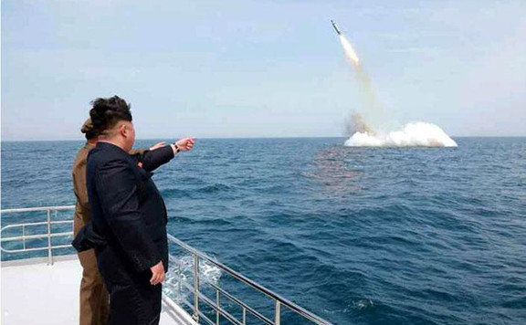 Észak-Korea ismét kilőtt valamilyen lövedéket