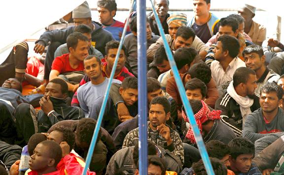 Nőtt az Európába érkező illegális migránsok száma júliusban