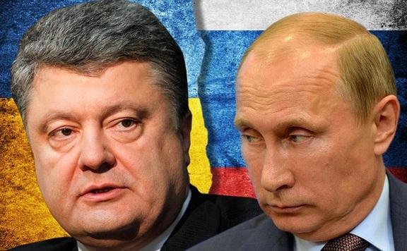 Putyin és Porosenko