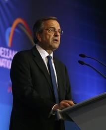 Samaras görög miniszterelnök álló