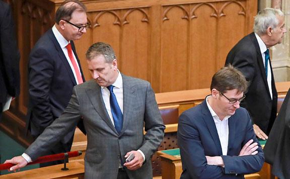 Tóth Csaba, Molnár Gyula és Karácsony Gergely 20180511