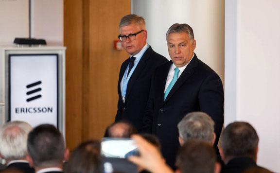 Börje Ekholm és Orbán 20180530