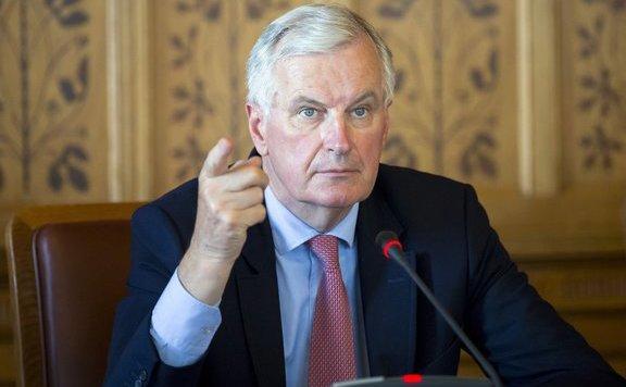 Barnier: Aggasztó Johnson ír határral kapcsolatos álláspontja