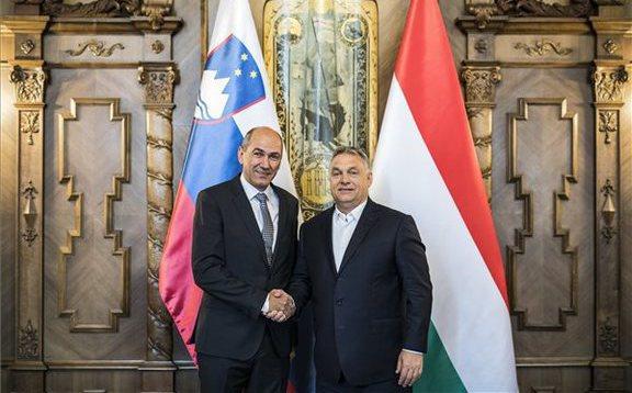 Orbán Viktor szlovén partnerei mellett kampányol