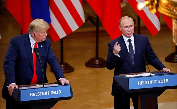 A kétoldalú viszonyról és a regionális válsággócokról tárgyalt Putyin és Trump