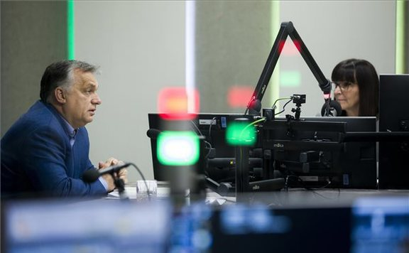 Orbán Viktor: Európának át kellene vennie az osztrák modellt