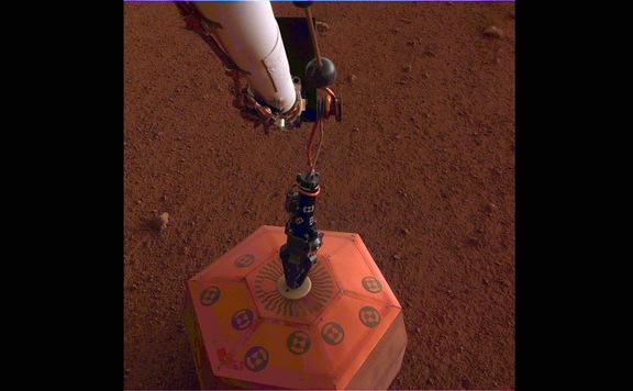 Először észlelt rengést a Marson az InSight űrszonda