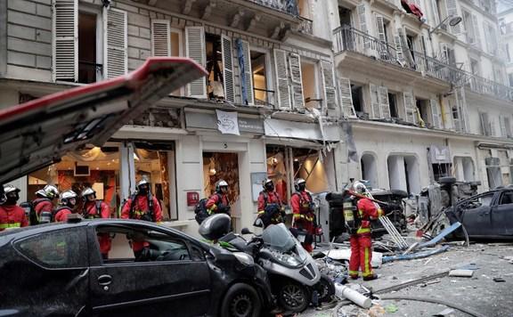 Párizs robbanás