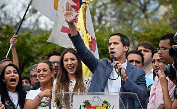 Guaidó: Maduro kormánya csapást mért a parlamentre