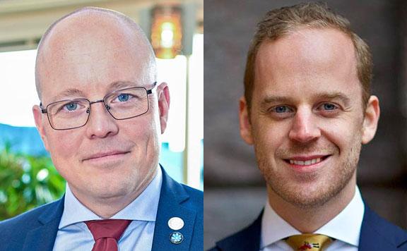Björn Söder és Gustav Kasselstrand 20190225